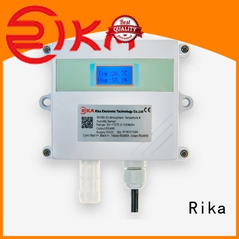 Rika top rated relative humidity sensors manufacturer for air quality monitoring