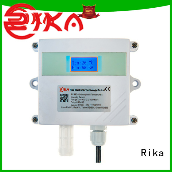 Rika great leaf wetness sensor solution provider for air pressure monitoring